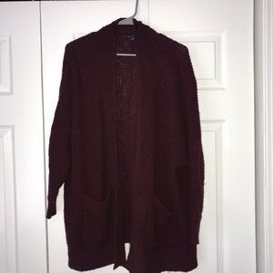 Maroon Sweater with Pockets!